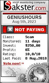 http://geniushours.biz/?ref=allhyipinvestor bakster.com