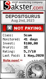 depositgurus.net monitoring by bakster.com