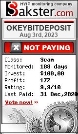 okeybitdeposit.com monitoring by bakster.com