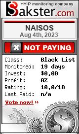 naisos.io monitoring by bakster.com