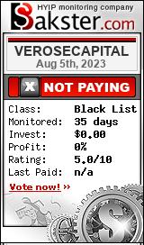 verosecapital.com monitoring by bakster.com