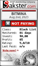 bitmina.biz monitoring by bakster.com