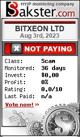 bitxeon.io monitoring by bakster.com