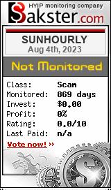 sunhourly.com monitoring by bakster.com