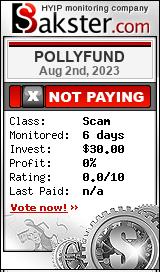 pollyfund.biz monitoring by bakster.com